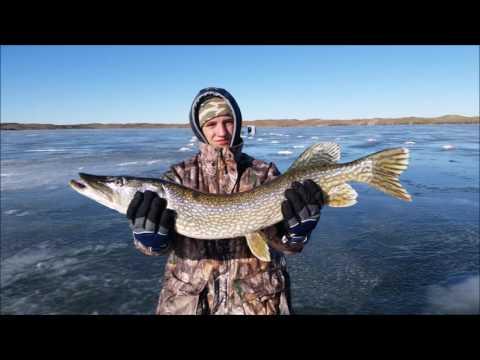 Valentine National Refuge Ice Fishing December 2016