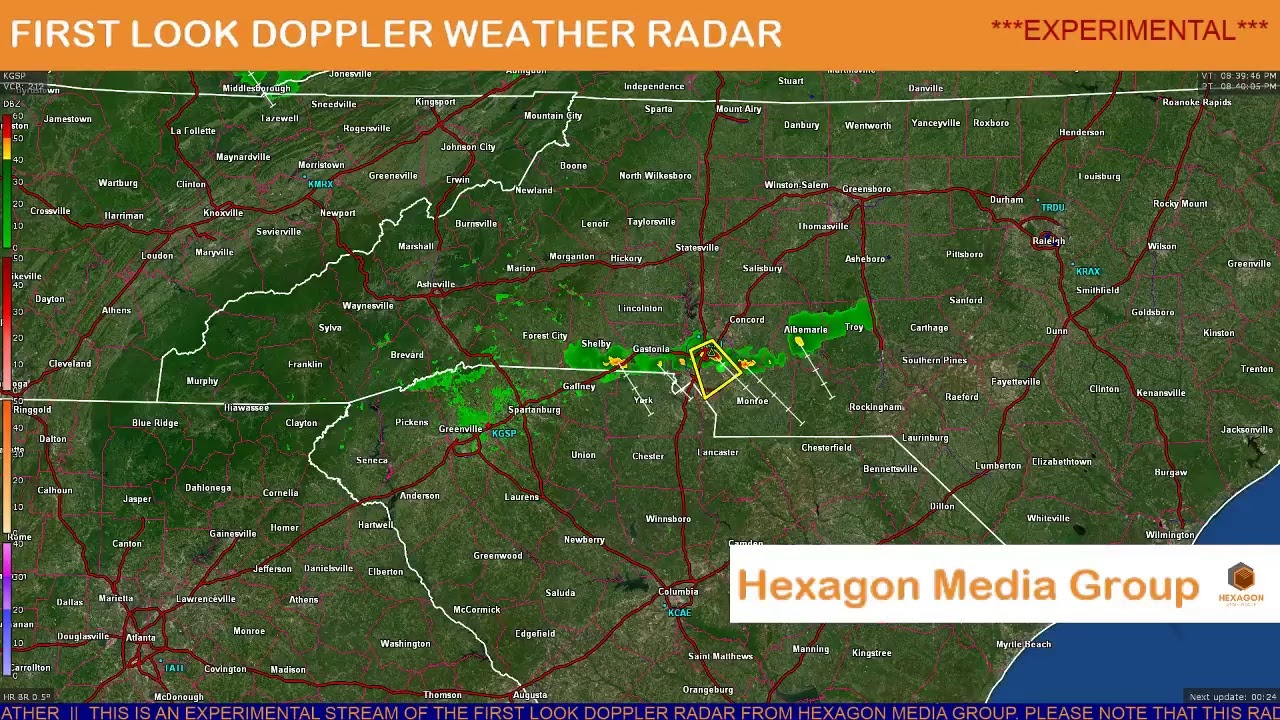 Doppler radar charlotte north carolina