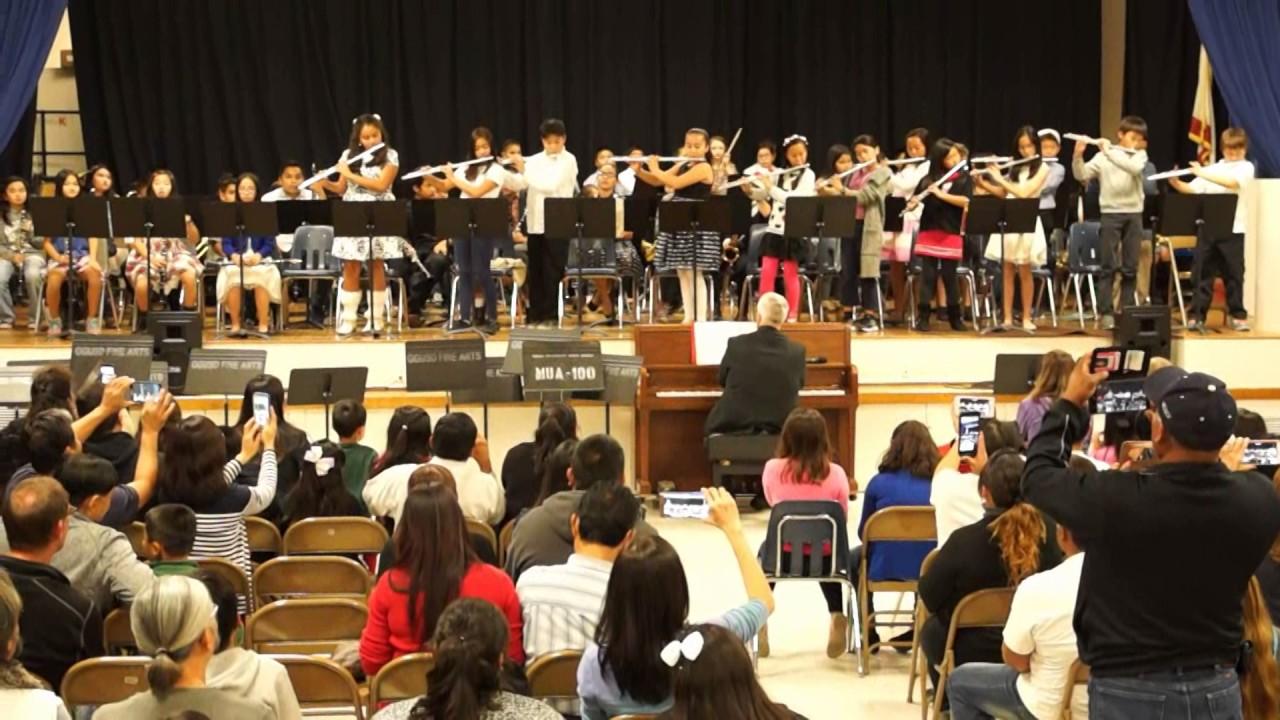 Peters Elementary School 4-6 instrumental concert__Beginning Band__ ...