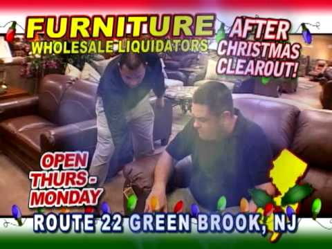 Furniture Wholesale Liquidators Green Brook Nj After X Mas Clearout Tv Commercial Youtube