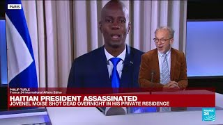 Haitian President Jovenel Moise shot dead overnight in his private residence • FRANCE 24 English