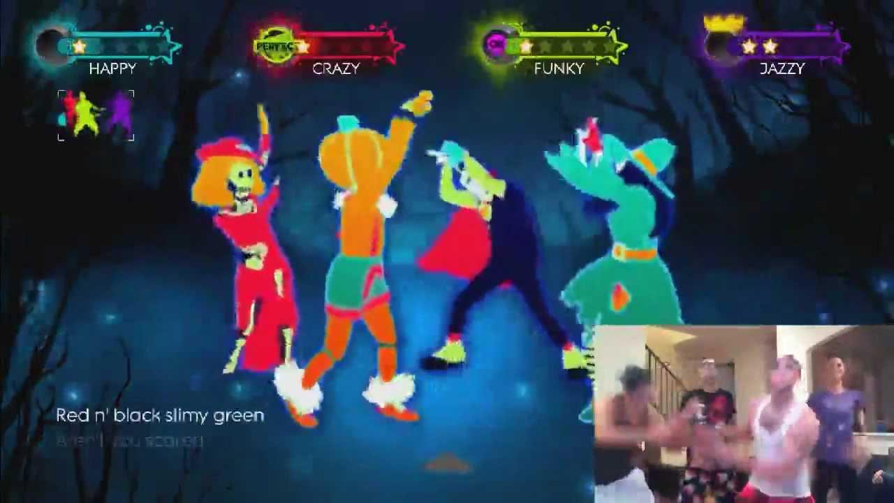 this is halloween on just dance 3 - Just Dance 3 Halloween