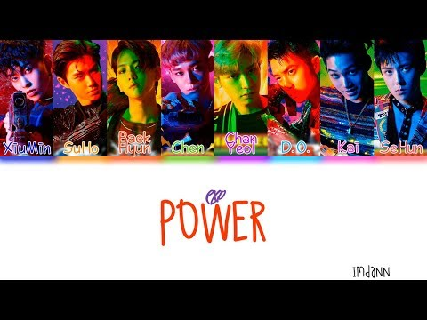 EXO - Power |Sub. Español + Color Coded| (HAN/ROM/ESP)