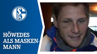 Benedikt Höwedes als Maskenmann