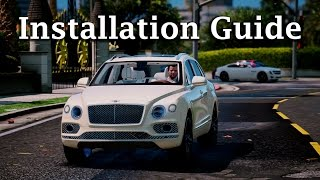 Gta V Mods Installation Guides Bentley Bentayga From Youtube - The