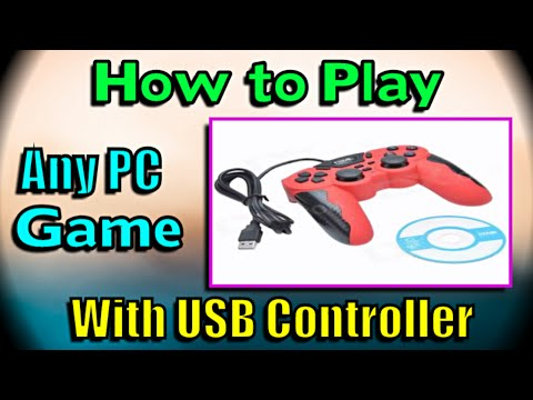 Play any PC game with USB Controller - Del Choc Web