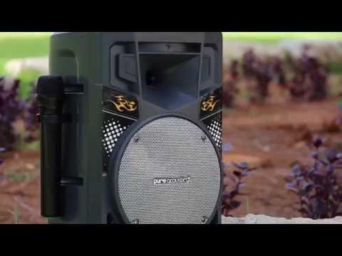 MCP-75 - Powerful portable bluetooth karaoke speaker