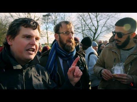 Bob The Builder Debates a Heretic | Speakers Corner