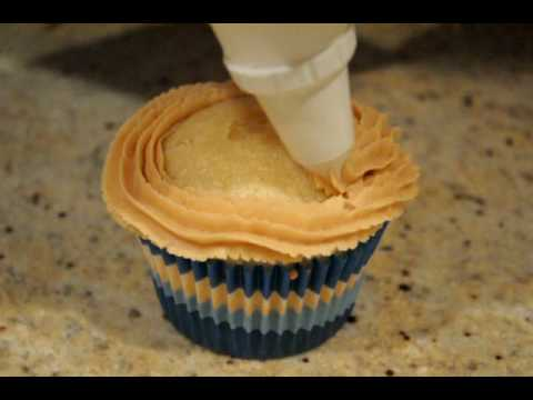 Crunchy Peanut cupcake
