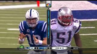 2009 Week 10:Patriots @ Colts (Brady/Manning X)