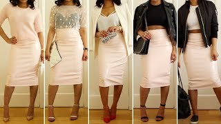 How To Style The Pink PVC Skirt | STYLE Thumbnail