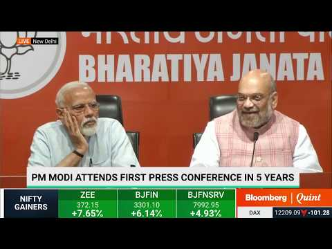PM Modi's First Press Conference In 5 Years