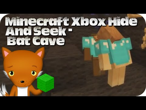 Minecraft xbox hide and seek bat cave funnydog tv for Hide n seek living room edition