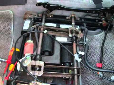 1997 toyota camry wiring diagram 95 mustang gt radio acura drive seat fix - youtube