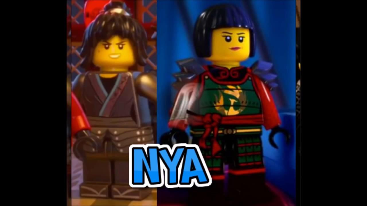 Ninjago Personagens Filme V S Desenho Youtube