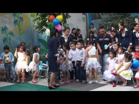 Văn nghệ 20-11 khiêu vũ Perhaps khối Lá trường mầm non Hạnh Phúc