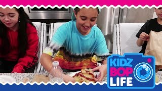 KIDZ BOP Life: Vlog # 7 - Isaiah does The Pizza Challenge