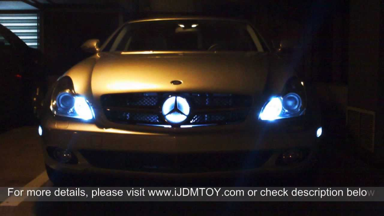 5 Smd Error Free T10 Led Bulbs For 2006 Mercedes Cls500