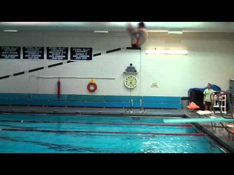 Ben Mitchell 1m diving High School