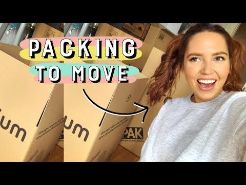 Packing To MOVE! 🙌🏼