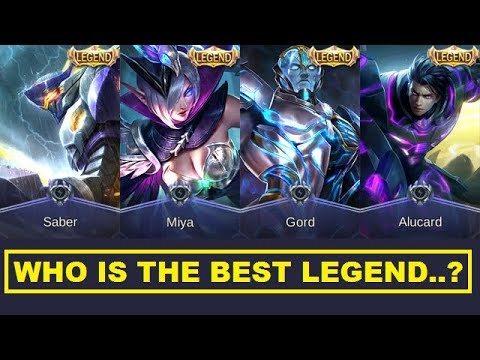 All Legend Skins Review - Who's The Most Worthy Legendary Skin In Mobile Legends