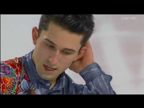 Liam Firus 2018 Canadian Tire National Skating Championships - SP
