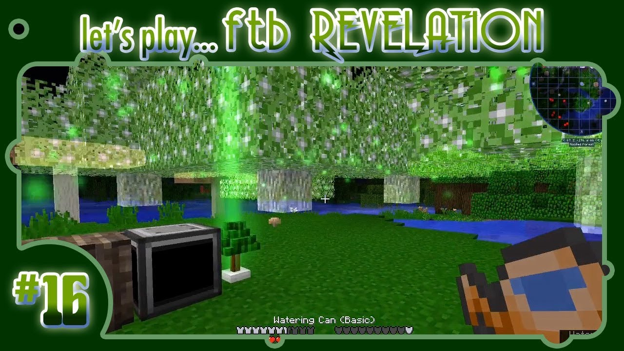 Let's Play    FTB Revelation! #16: Base Tweakin' with a Tree Beacon: The  Dawn of Storage