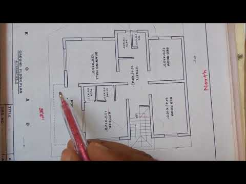 2 BHK SMALL HOUSE PLAN