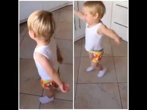 Сын Евгении Феофилактовой, Даниэль, танцует!