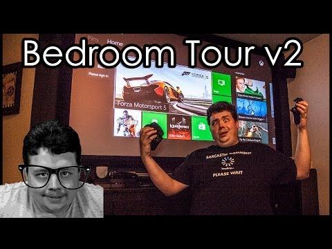 Ultimate Nerd Cave Gaming Bedroom Tour...