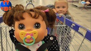 ✔ Готовимся к Хэллоуину с моей Куклой! Make preparation for Halloween together with Alive Baby Doll