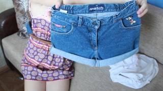 Модные шорты своими руками: 2 варианта - Diy shorts [on-the-go blog](http://on-the-go-blog.blogspot.com/ Это наше первое видео на канале On-the-go ! Не забудьте посетить наш блог,там вас ждёт много..., 2013-08-11T11:52:42.000Z)