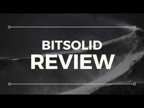 BitSolid Scam Review - WARNING!! SEE THIS NOW!