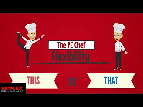PE Chef: Flexibility THIS or THAT (5 Components of Fitness) Active Knowledge Check