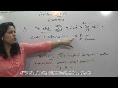 GOLDEN GRAMMAR RULES SESSION 1 FOR SSC CGL CHSL CAT CLAT