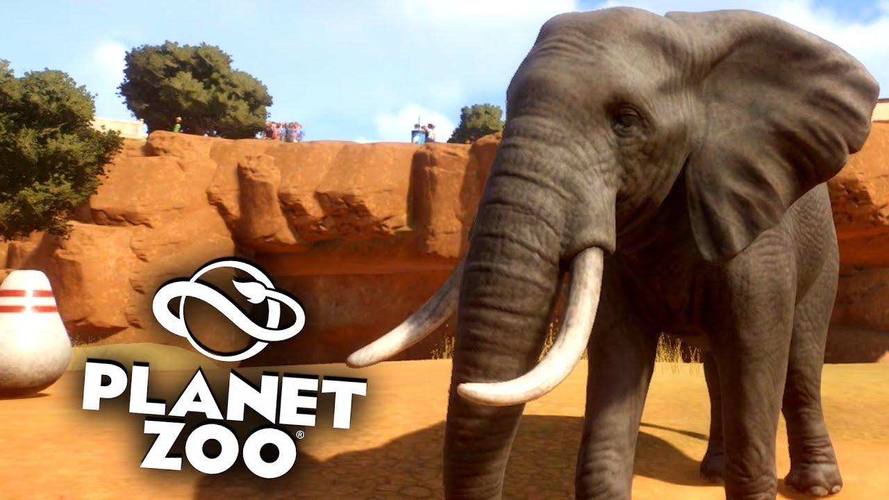 PLANET ZOO Beta - 23 - Abschied mit afr. Elefanten | Planet Zoo Deutsch ► Franchise Mode