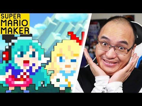 KAWAII KYUN KYUN JUMP ! | Super Mario Maker