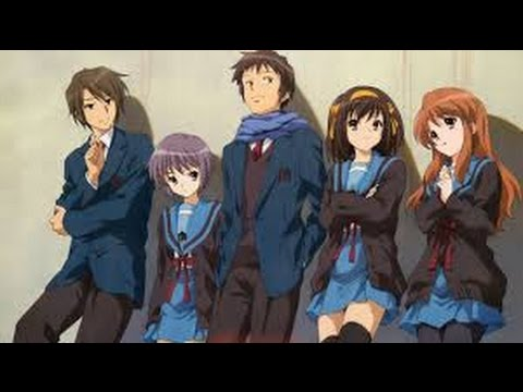 The Disappearance of Haruhi Suzumiya HD Dub