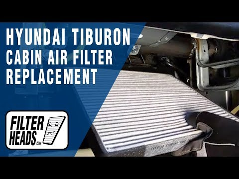 how to replace cabin air filter hyundai tiburon youtube 2003 Hyundai Tiburon Specs how to replace cabin air filter hyundai tiburon