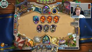 Unbelievable RNG VALUE COMBO with 1 HP COMEBACK!..   Hearthstone Witchwood Daily Moments Ep.262
