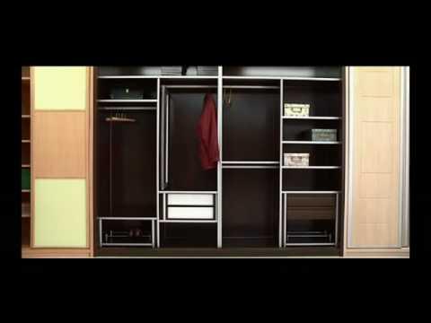 Fabricaci n y dise o de armarios a medida fabri youtube for Armarios empotrados de diseno