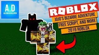 Cómo script Jojo's Bizarre Adventure en Roblox Studio!