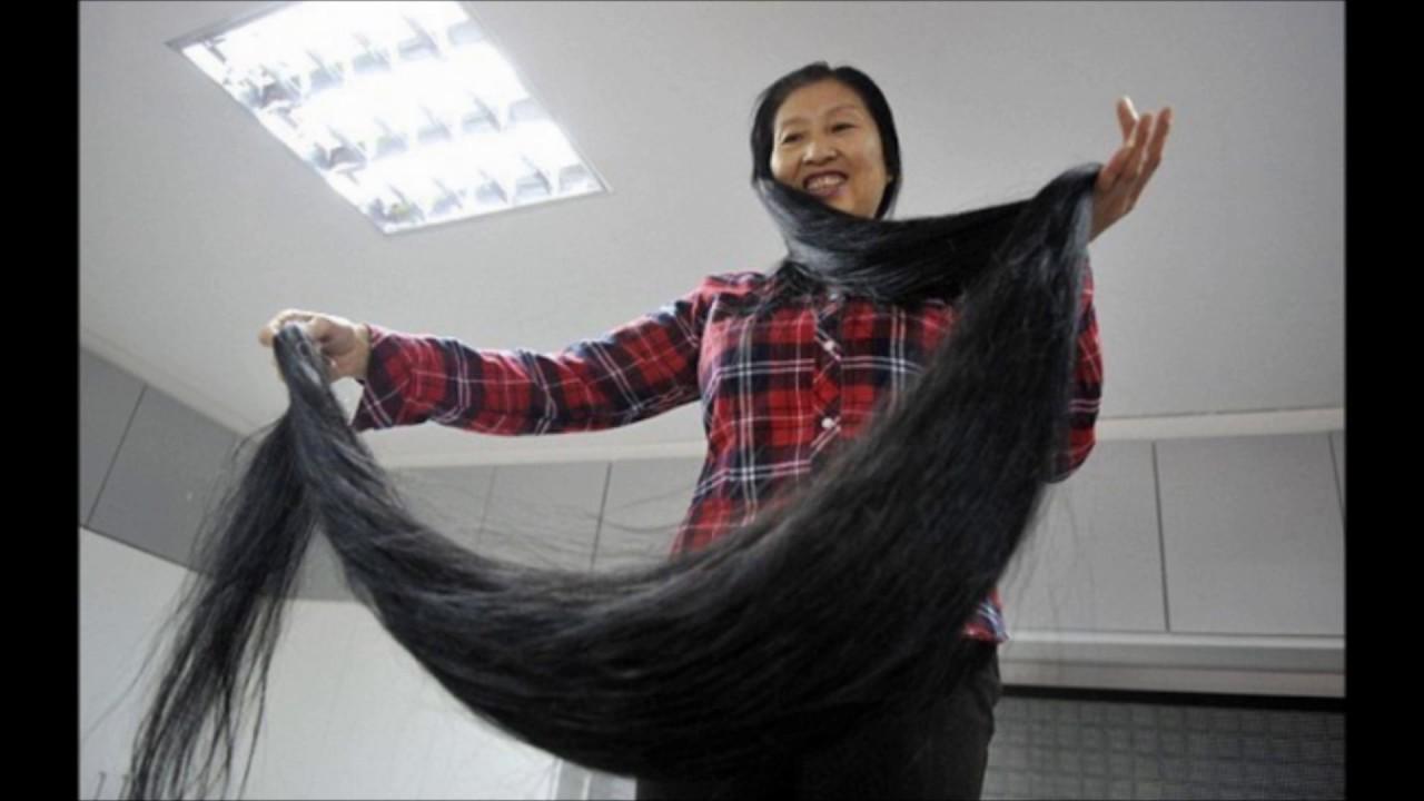 värdens längsta hår