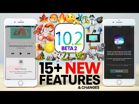 iOS 10.2 Beta 2 - 15+ New Features Review!