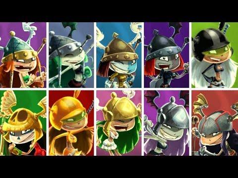 Rayman Legends - All Princesses