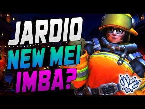 JARDIO WORLD RANK 1 MEI! HE'S BEST! [ OVERWATCH SEASON 9 TOP 500 ]