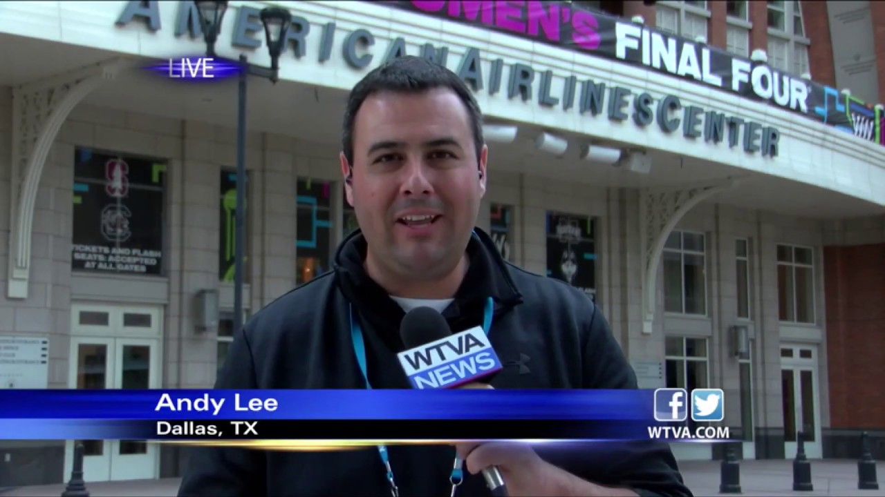 Andy Lee Sports Anchor/Reporter Reel-July 2019