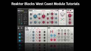 Native Instruments West Coast Block Teaser - Reaktor 6