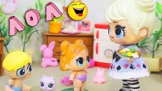 ЗБІРНИК Смішні мультики №7 з Ляльками Сюрпризи ЛОЛ | Іграшки LOL Dolls