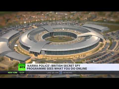 GCHQ Secret 'Karma Police' scoops all your online activity